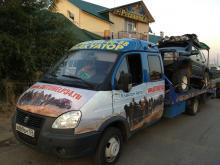 Служба экстренной эвакуации автомобилей 24 часа в Волгограде, Волжском и по всем регионам РФ - Наш эвакуатор перевозит Jeep Cherokee с прицепом из Астрахани