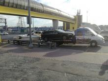 Служба экстренной эвакуации автомобилей 24 часа в Волгограде, Волжском и по всем регионам РФ - наш эвакуатор перевозит катер Yamaha и Volvo XC70 по МКАД г.Москвы